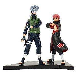 Kit 2 personagens Naruto Shippuden Kakashi e Sasori  - Animes Geek