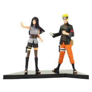 Kit 2 personagens Naruto Shippuden Naruto e Hinata  - Animes Geek