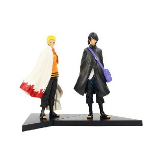 Kit 2 personagens Sasuke e Naruto - Boruto Next Generations