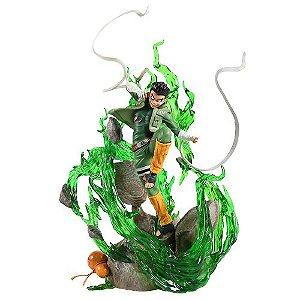 Estátua Rock Lee Abertura 8 Portões 33 cm - Naruto Shippuden