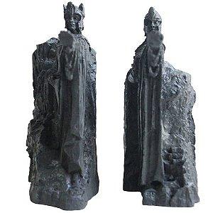 Kit com 2 estátuas As Argonath Suporte livros - O Senhos dos Anéis