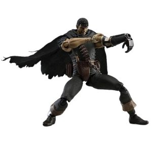Action Figure Guts Berserk Versão Black Swordsman - Animes Geek