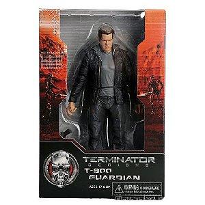 T 800 Guardian Action Figure Exterminador do Futuro Gênesis  - Neca