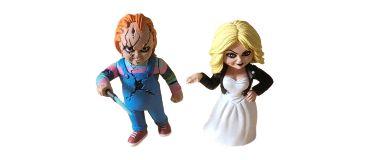 Chucky e Tiffany Toony Terrors - Neca
