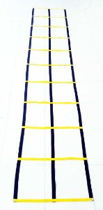 Escada de Agilidade Dupla - Circuito com 11 degraus