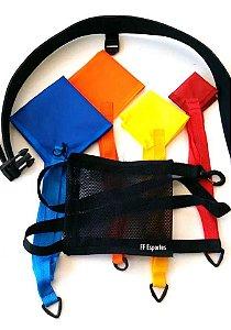 Kit de paraquedas para natação de 4 tamanhos
