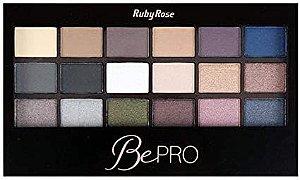 Paleta de Sombras Be Pro Ruby Rose