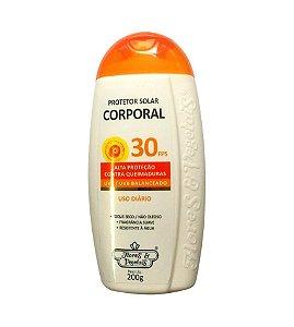 Protetor Solar Corporal 30FPS Flores e Vegetais
