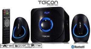 Mini Home Theater  Taicon 2.1 com Subwoofer 45 wats  forte