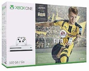 Xbox One S 4k 500gb + Jogo Fifa 17