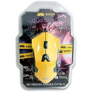 Mouse Gamer KP-V27 - Cores Sortidas