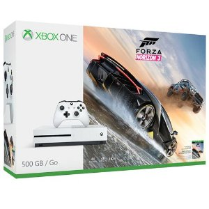 Console Microsoft Xbox One S 500GB + Game Forza Horizon 3