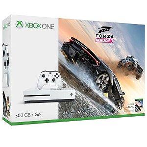Console Microsoft Xbox One S 500GB + Game Forza Horizon 3