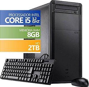 Computador Desktop Infoteclan Intel Core i5 8GB HD 2TB