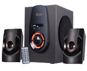 Mini Home Theater Amplificada Knup Com Bluetooth Kp-bh6010