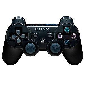 Controle Dual Shock 3 Preto PS3 - Sony Importado
