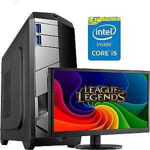 PC GAMER INFOTECLAN i5 3470 3.2 GHZ 4 GB  HD 500 GB Monitor LG 18.5