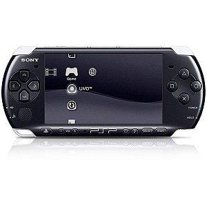 Console Sony Playstation Portátil PSP-3006 + 100 jogos na memoria