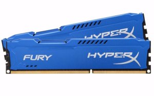 Memória Kingston HyperX FURY 8GB 1866Mhz DDR3 CL10 blu Series