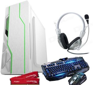 Cpu Pc Gamer A-4000 3.2 Ghz Gb Hd500 4GB Hyper x Gabinete RGB