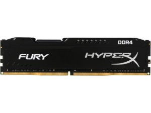 Memória Kingston HyperX FURY 4GB 2400Mhz DDR4 CL15 Black