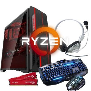 Pc gamer ryzen 3 2200G 4GB DDR4 HD 1TB FONTE 400 WATTS REAL