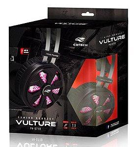 Headset Gamer C3 Tech Vulture 7.1 Preto PH-G710