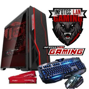 Pc gamer Amd A4-6300 3.7 ghz 8GB hyper x hd 500GB , GEFORCE GT 1030 DDR5