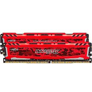 MEMORIA CRUCIAL BALLISTIX 16GB (1X16) 2400MHZ DDR4 UDIMM, BLS16G4D240FSB