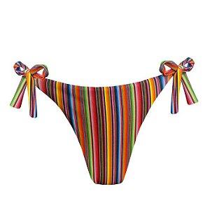 Calcinha de Biquíni Empina Bumbum Paleta Mexicana Colorido