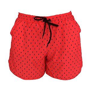 Shorts Saída de Praia Melancia