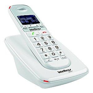 Telefone Sem Fio Digital TS 63 V Branco Intelbras