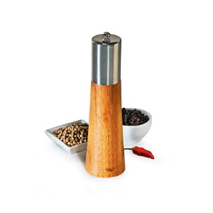 Moedor de Sal Grosso e Pimenta em Bambu Salzburgo Welf