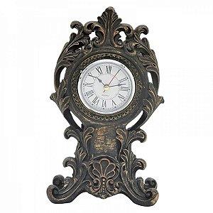Relógio Decorativo de Resina - 23 cm