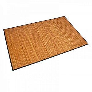 Tapete Retangular de Bambu Claro - 120 x 180 cm
