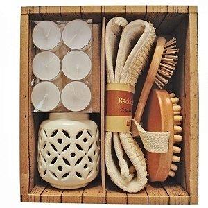 Kit de Spa Linha Incasa - 5 peças