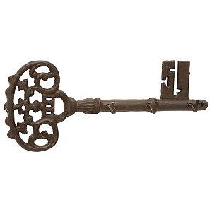 Porta Chaves de Metal - 3 Ganchos