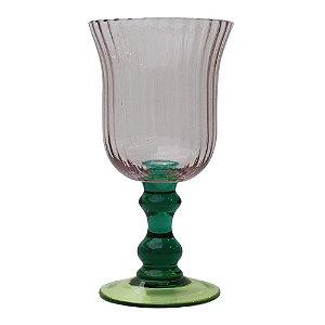 Conjunto de Taças para Vinho Roxas 18 cm - 6 Peças