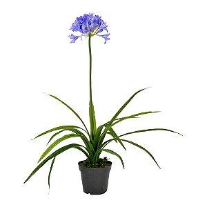 Flor Artificial Decorativa Roxa - 95 cm