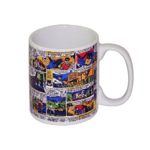 Caneca de Porcelana New DC Comics Quadrinhos Batman e Robin - 300 ml