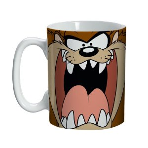 Caneca de Porcelana Looney Tunes Taz - 135 ml