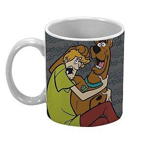 Caneca de Porcelana Hanna Barbera Scooby-Doo e Salsicha - 300 ml
