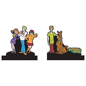 Aparador de Livros em Madeira Hanna Barbera Scooby-Doo e sua Turma - 2 Peças
