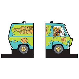 Aparador de Livros em Madeira Hanna Barbera Scooby-Doo Mystery Machine - 2 Peças