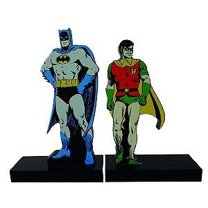 Aparador de Livros em Madeira DC Comics Batman and Robin - 2 Peças