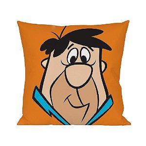 Capa para Almofada em Poliéster Hanna Barbera Os Flintstones Fred - 45 cm