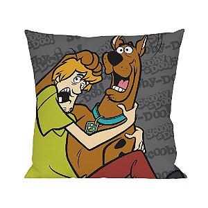 Capa para Almofada em Poliéster Hanna Barbera Scooby-Doo e Salsicha - 45 cm