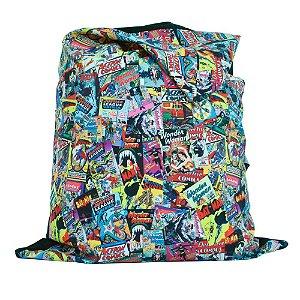 Capa para Almofada em Poliéster DC Comics All Types of Covers - 115 cm