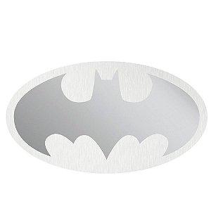 Espelho Decorativo Oval DC Comics com Logo Batman - 45 x 80 cm