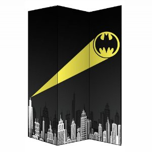 Biombo Decorativo de 3 Folhas DC Comics Batman Call - 180 cm